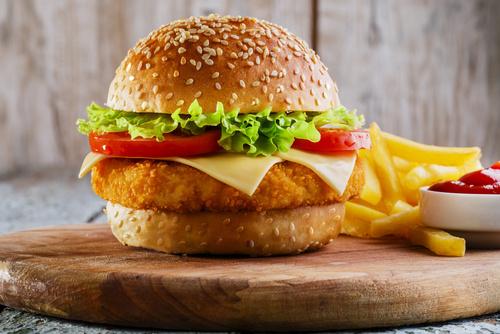 Royal poulet burger